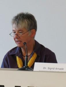 Dr. Sigrid Arnade, Interessenvertretung Selbstbestimmt Leben Deutschland (ISL) e.V.