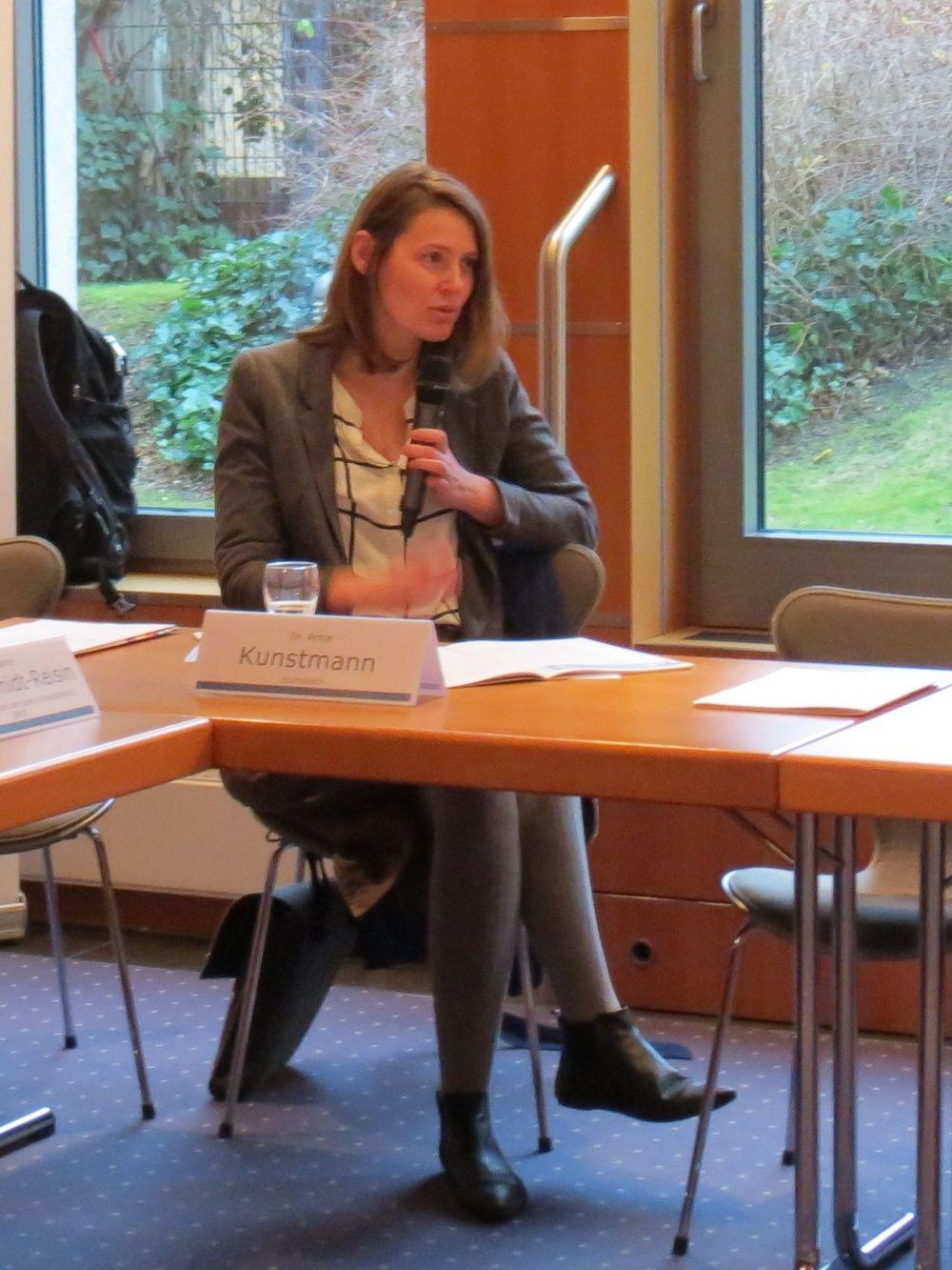 Dr. Antje Kunstmann kommentiert die Publikation
