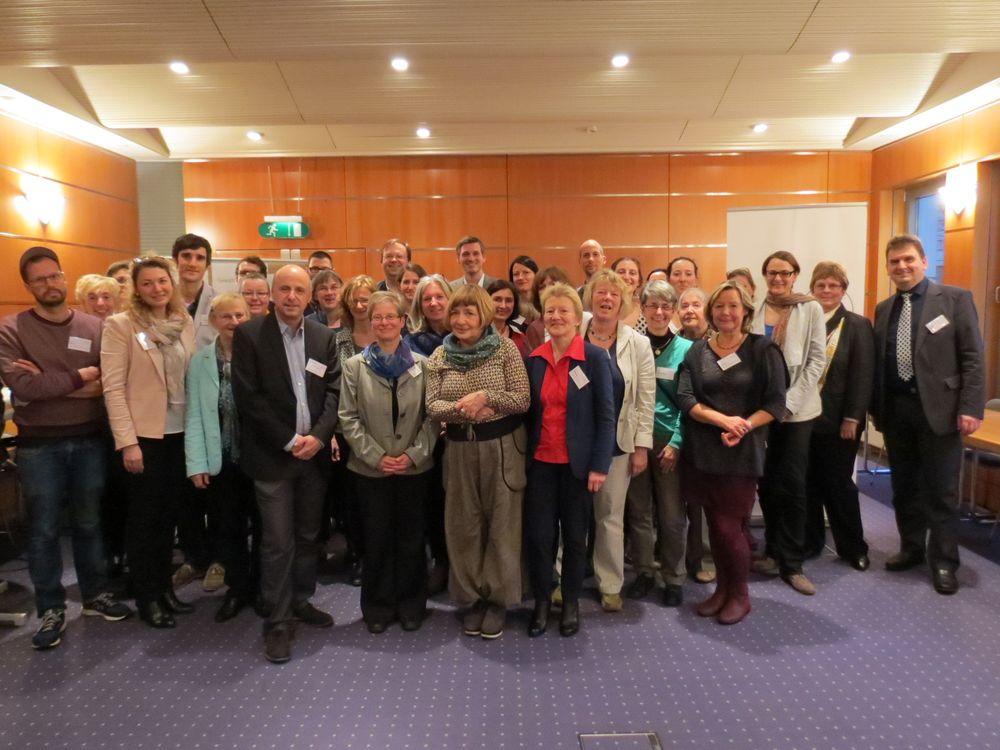 Teilnehmende der Netzwerkversammlung 2015
