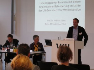 Prof. Dr. Andreas Eckert, Interkantonale Hochschule für Heilpädagogik Zürich